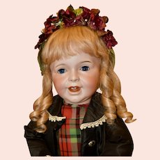 """Darling 28"""" SFBJ 236 Character Child Toddler, Excellent"""