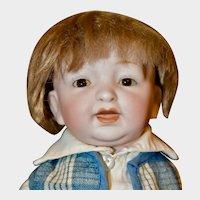 """Adorable 12"""" Kestner 211 Toddler Boy"""