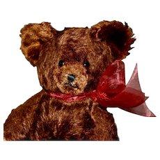 Cute Cinnamon Mohair 30s Knickerbacher Bear