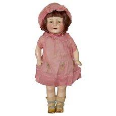 Lovely All Original Horsman Rosebud Doll C1930