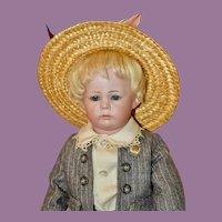 """Darling 13.5"""" K*R Kammer & Reinhardt Phillip Pouty Toddler"""