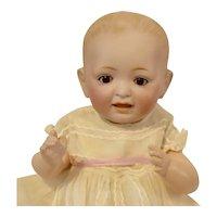 "Sweet Petite 10"" Kestner Solid Dome Character Baby with Sleep Eyes"