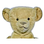 """21"""" Early Ideal Bear with Boot Button Eyes"""
