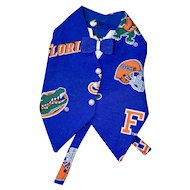 Florida Gators Vest for doll or bear