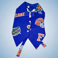 Florida Gators Vest for doll or bear
