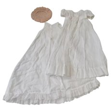 Vintage Gown and Slip for 9-10 inch Baby