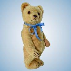 """12"""" Vintage German Bear, Adorable Golden Mohair"""