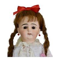 "Charming Rare 129 SP Antique German Doll in Original Clothes, 18"""