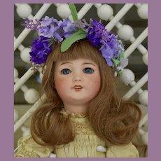 "Sweet 15"" SFBJ 301 Paris Bebe, w/ Antique French Dress"