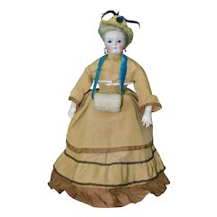 Stunning French Poupee in Original Costume, Rohmer