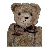 "12.5"" Early Hermann Bear C 1910-20, Brown Mohair"