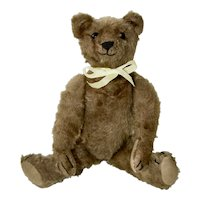 1907 Chocolate Brown Mohair Bing Bear, Excellent
