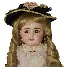 """Adorable 21"""" Simon Halbig 719 Character Doll, French Trade"""