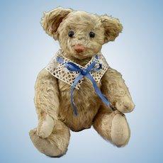 "Rare 12""  Blonde Mohair Hecla Bear, C1906"