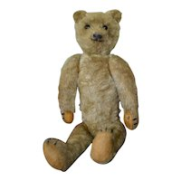 Rare 1905 Antique German Teddy Bear with 5-Claw Stitching