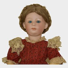 Lovely Gebruder Heubach 7246 Pouty Character Child, Bright Blue Eyes