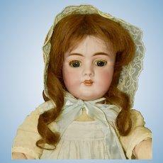 """21"""" Heinrich Handwerck 99 Antique Bisque Child Doll"""