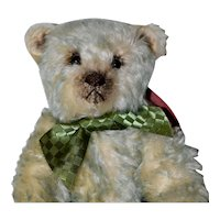 Pistachio, Artist Mohair Bear with Vintage Styling