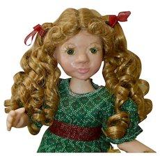 "Mia Marie, 14"" OOAK Art Doll, Polymer Clay BJD"