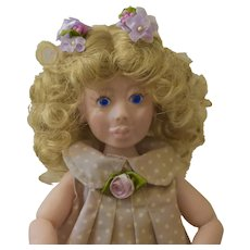 Bella Corina, OOAK Art Doll, Polymer Clay, BJD