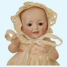 "10"" Kestner Solid Dome Baby with Sleep Eyes"
