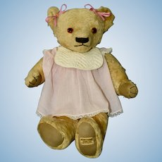 1930-31 Merrythought teddy bear, Very Sweet