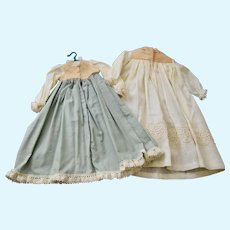 Two Vintage Madam Alexander Little Women Gowns, One is labeled