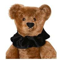 Early Cinnamon Mohair Ideal Bear w/ Boot Button Eyes