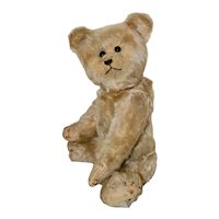 Rare C 1910 Early Hermann Mohair Bear