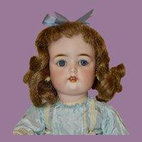 "Pretty 13"" Simon & Halbig 1299 Child Doll, C1909"