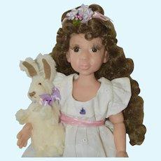 Beautiful Lia Rose, Award Winning OOAK Polymer Clay Art Doll