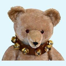 "Handsome 27"" Eduard Cramer Caramel Mohair Bear C1925-30"