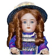 Darling Simon Halbig 1299 Child Doll, 13 inch