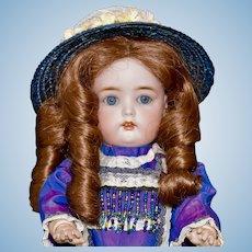 Darling Simon Halbig 1299 Child Doll, 13 inch
