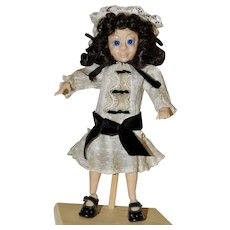 "Nell, OOAK Polymer Clay 10"" Art Doll, BJD"