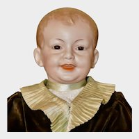 """Charming 22"""" SFBJ 227 Character Boy Child, Excellent Condition"""