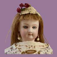 Exquisite Petit Jumeau Fashion Poupee w/ Portrait Face