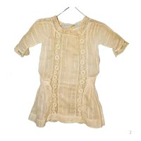 """Original Ecru Lace Factory Chemise for 18-20"""" Doll"""