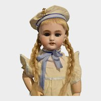 """17"""" DEP French Bebe in Cute Sailor Dress and Hat"""