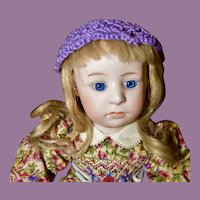 """Gebruder Heubach 7248 Pouty Character Child, 12"""" tall"""