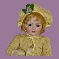 "Beautiful 22"" Bahr & Proschild 585 Child Doll"
