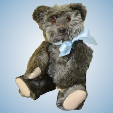 Jopi Joseph Pittman Teddy Bear C 20s or 30s, Silver Grey Mohair