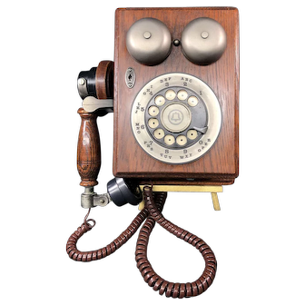 Vintage Western Electric Wall Telephone