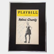 Ann Reinking Autograph on Playbill Cover • Sweet Charity • 1986 Revival