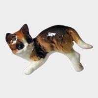 "Goebel Porcelain ""Running"" Cat Figurine"