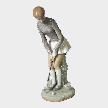 Lladro Figure - Lady Golfer No. 1004851