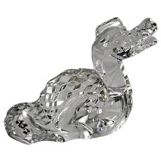 BACCARAT Crystal Figurine - Zodiac Dragon - 2012 Year of the Dragon Paperweight