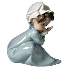 Lladro Figure - Baby Holding Bottle No. 1005103