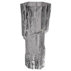 Mid-Century Modern AVENA - IITTALA Glass Vase by Tapio Wirkkala, No.3429