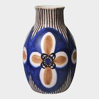 Soholm Art Pottery Danish Modern Vase by Rigmor Nielsen